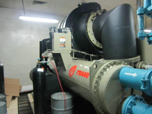 中央空调冷水机组维保维护的方法